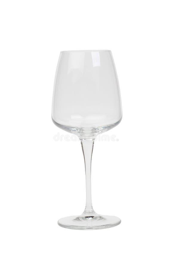 Empty Wineglass Stock Photo