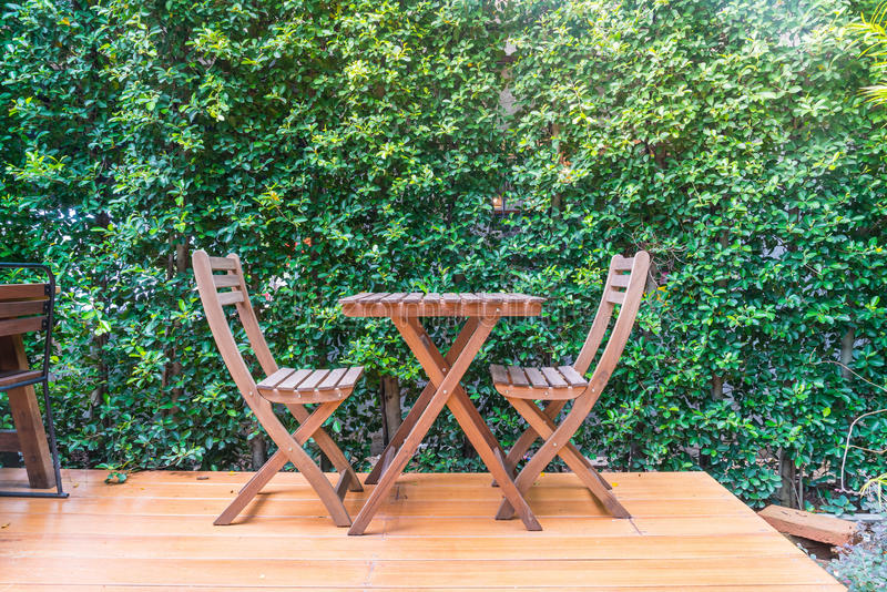 empty wood chair royalty free stock photos