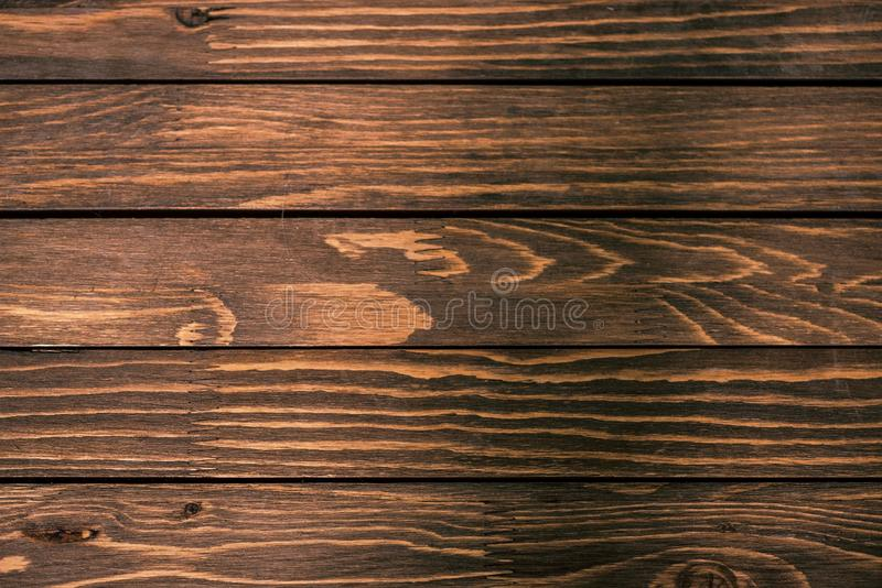 Empty wooden background for logo pictures or advertisement texts, above vantage point photography. Hardwood royalty free stock image