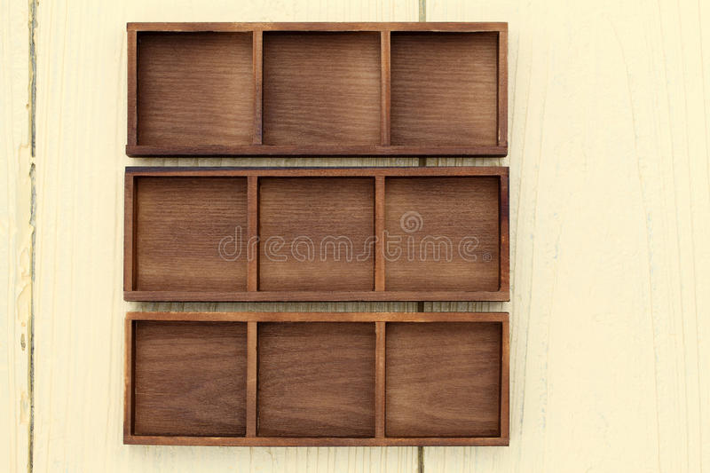 Download Empty wooden box stock photo. Image of rough, design - 32058042