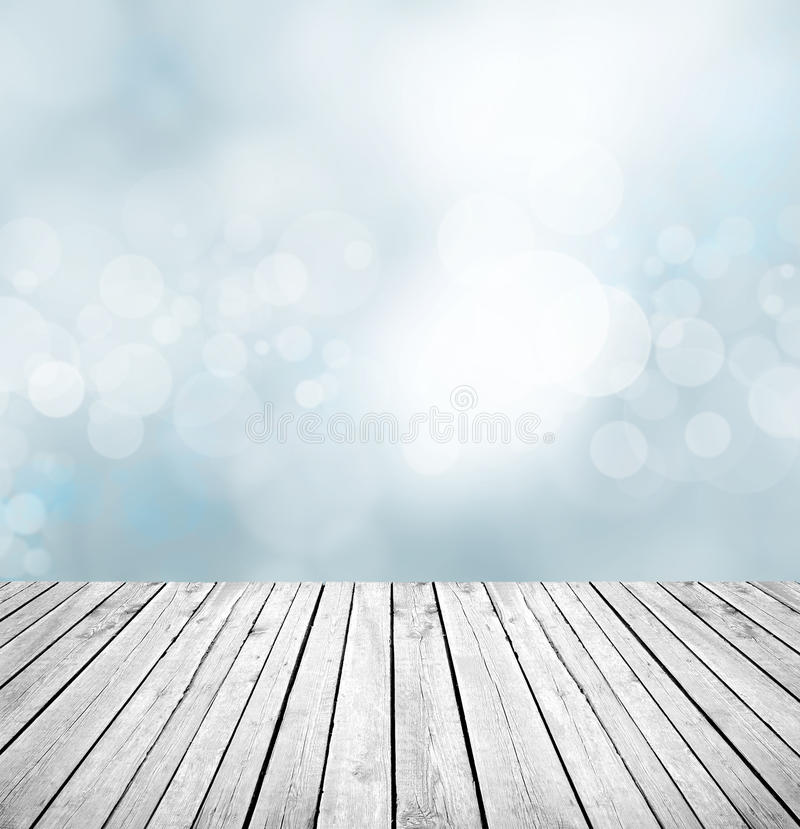 Empty wooden counter background stock photos