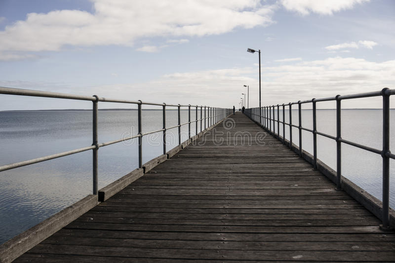 Empty Wooden Dock By Calm Sea During Daytime Free Public Domain Cc0 Image