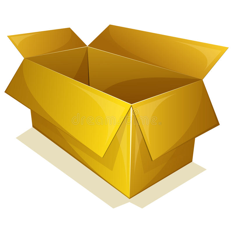 Download Empty Yellow Box Royalty Free Stock Images - Image: 32144669