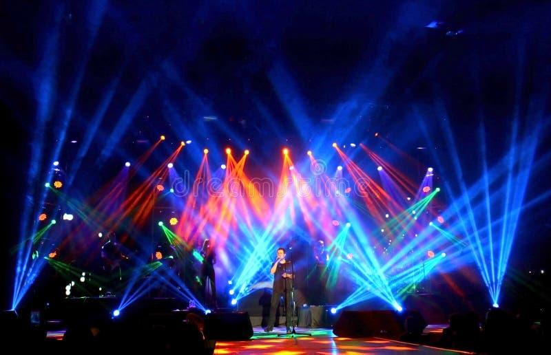 Emre Aydin Rockowy koncert fotografia royalty free