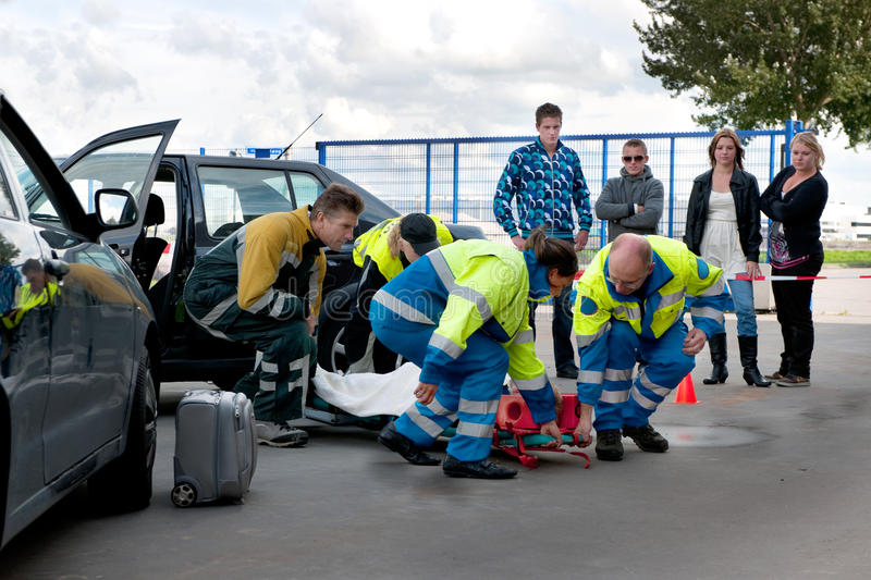 Download EMS teamwork stock image. Image of first, stretcher, carrying - 17593975