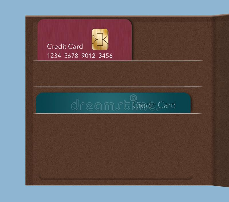 EMV chips have led to a redesign of some credit cards to a vertical or portrait format. Here is a mock generic credit card that is. In the new vertical royalty free stock photos