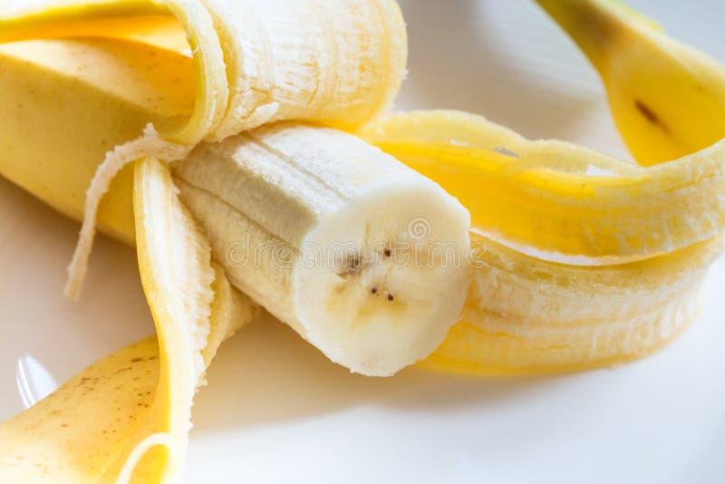 En öppen banan arkivbilder