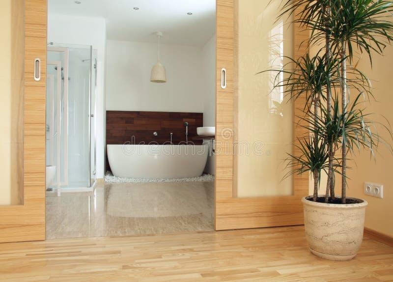 en ванной комнаты parents сюита стоковые изображения rf