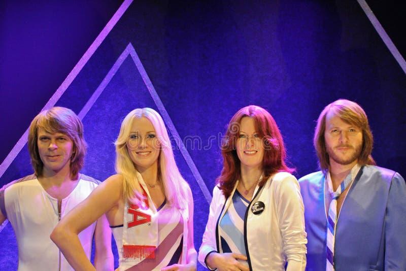 En ABBA el museo en Estocolmo fotografía de archivo libre de regalías
