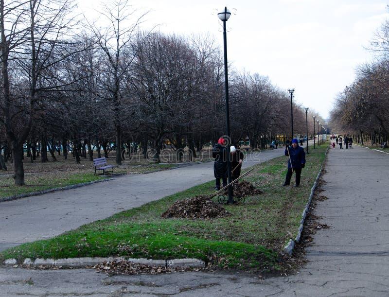 En abril de 2019 Kramatorsk, Ucrania imagen de archivo libre de regalías