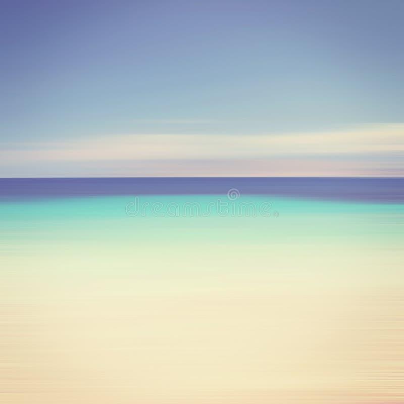 En abstrakt havseascape royaltyfri bild