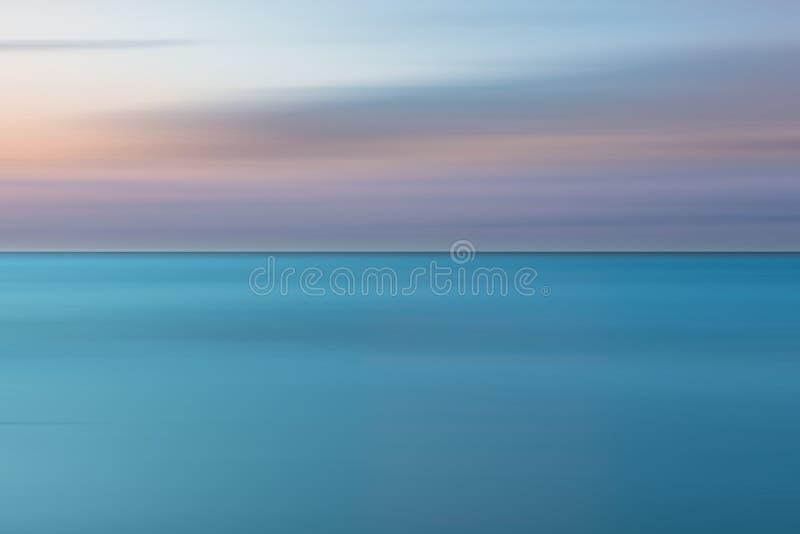 En abstrakt havseascape royaltyfria bilder