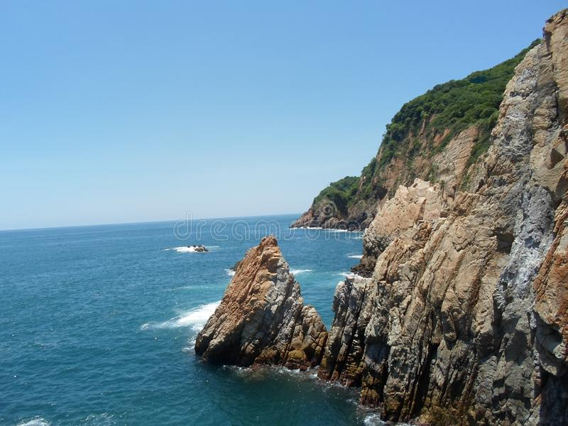 En Acapulco del ³ n perfecta del unià del La imagenes de archivo