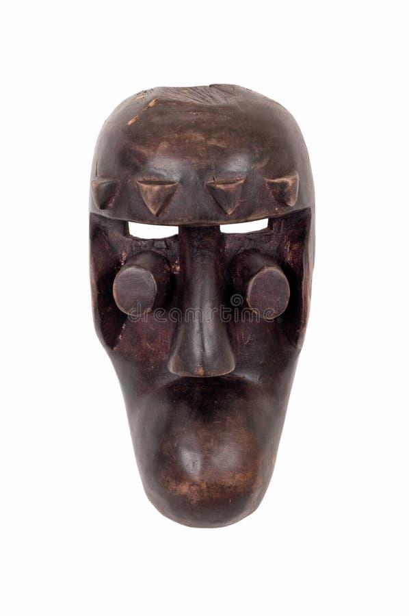 Afrikanen maskerar arkivfoto