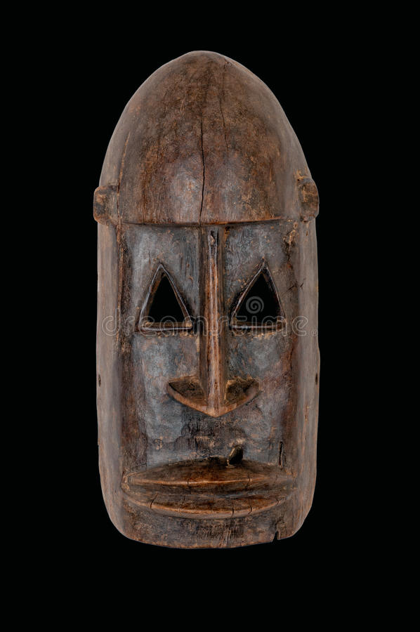 Afrikanen maskerar royaltyfri foto