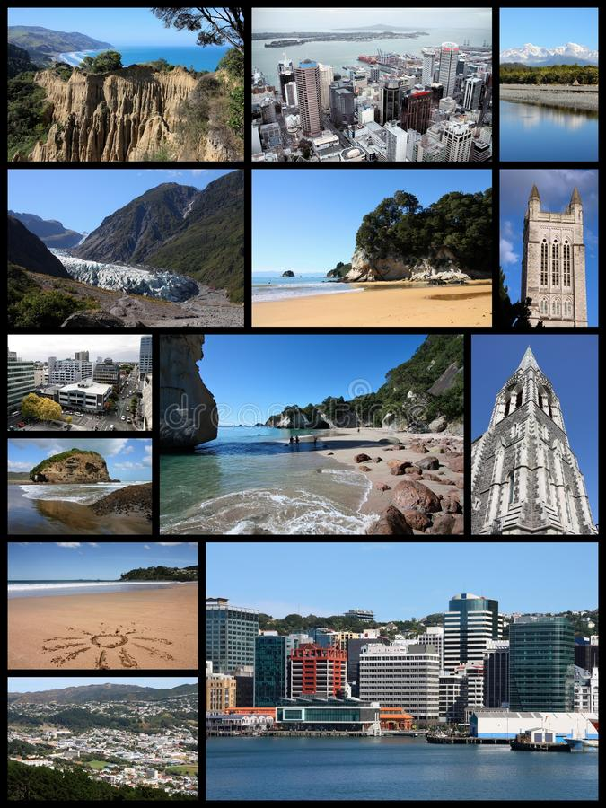 En alguna parte en Nueva Zelandia fotos de archivo libres de regalías