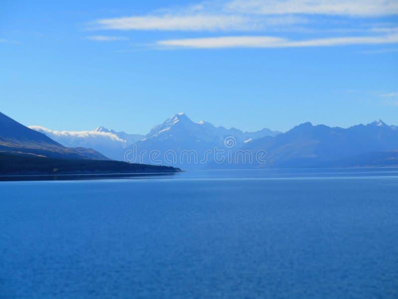 En alguna parte en Nueva Zelandia fotos de archivo