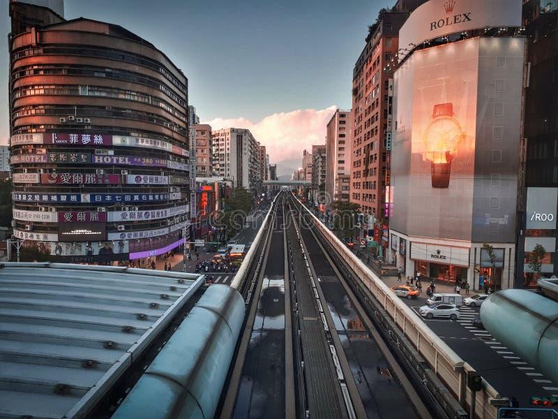 En alguna parte en Osaka foto de archivo