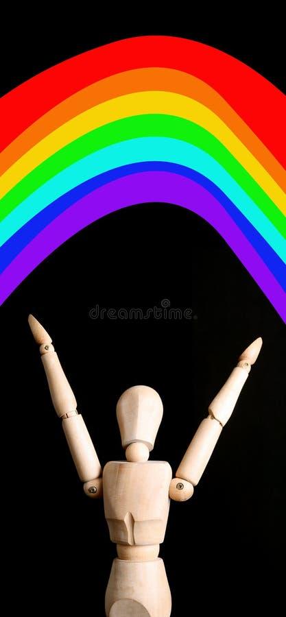 En alguna parte sobre el arco iris