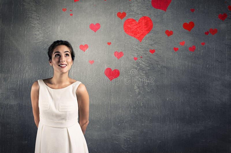 En amor imagen de archivo libre de regalías