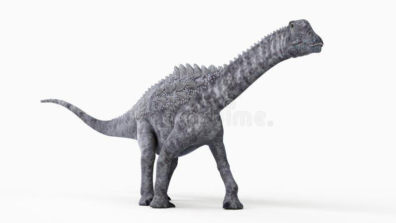 en ampelosaurus royaltyfri illustrationer