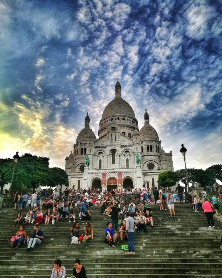 En annan dag i Paris arkivbilder