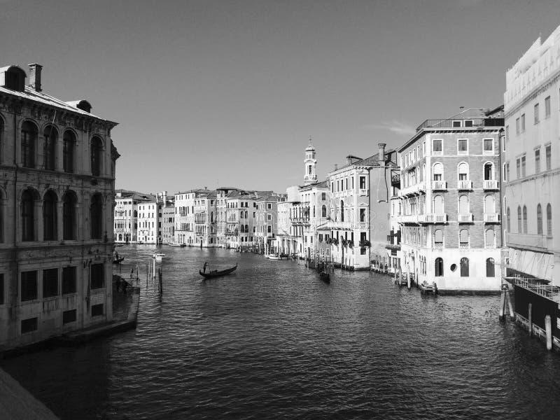 En annan dag i Venedig arkivfoto