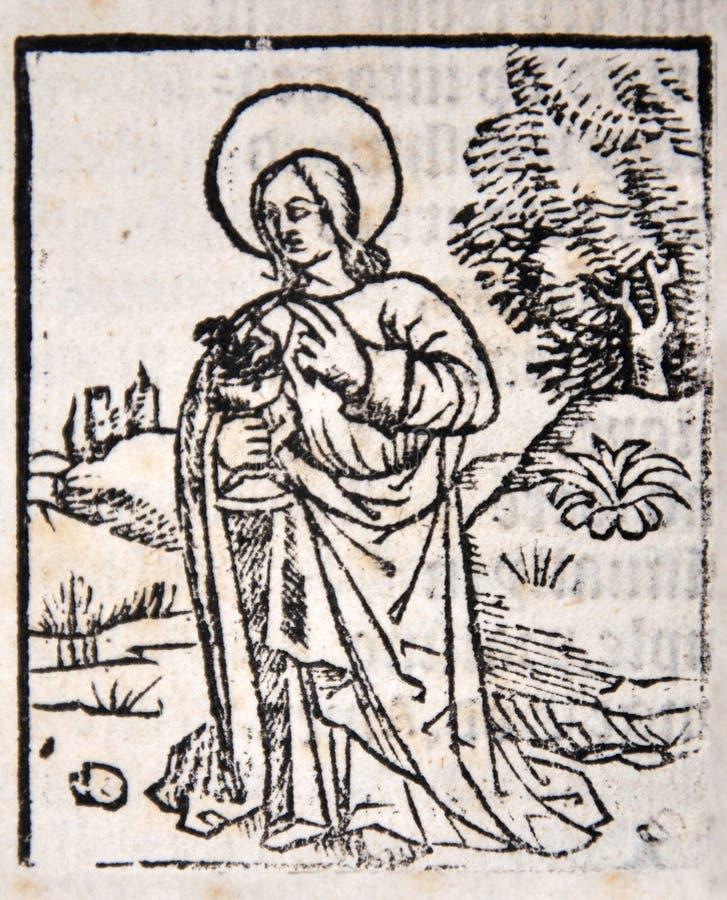 En apostel vektor illustrationer