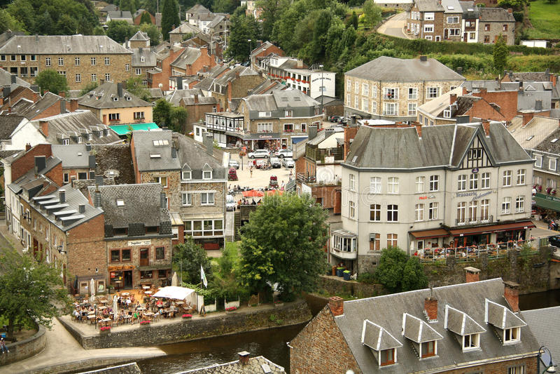 En Ardenne, Bélgica de La Roche fotos de archivo libres de regalías