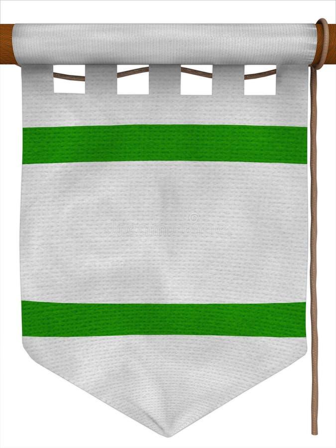 En arrêtant le drapeau, tapez - 2 illustration de vecteur