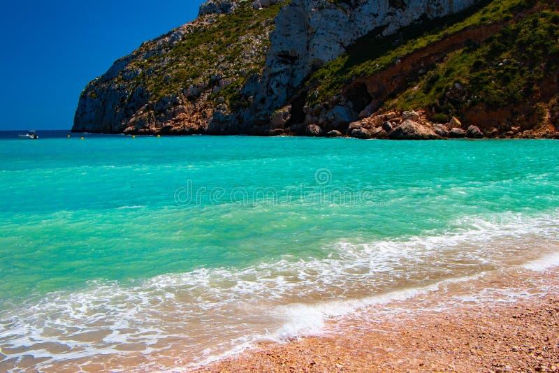 En av den mest berömda stranden arkivbild