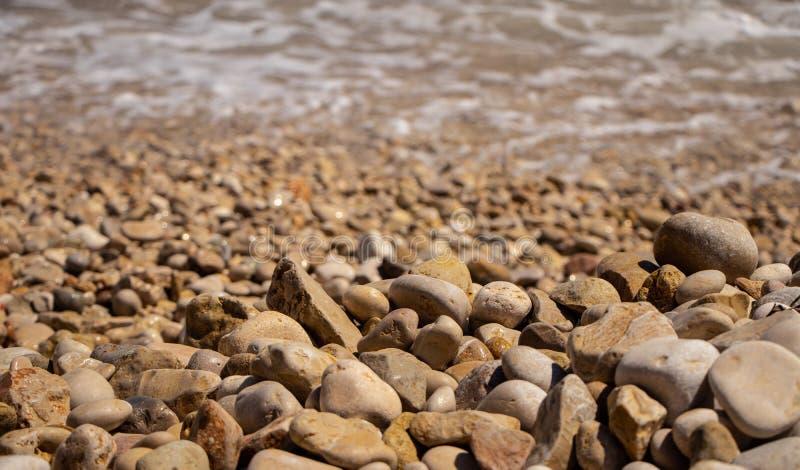 En av den mest berömda stranden royaltyfria foton