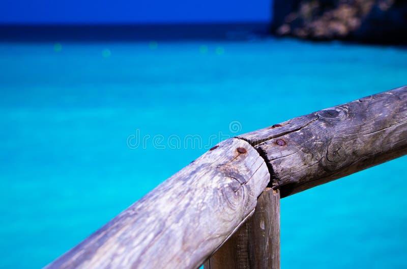 En av den mest berömda stranden royaltyfri bild