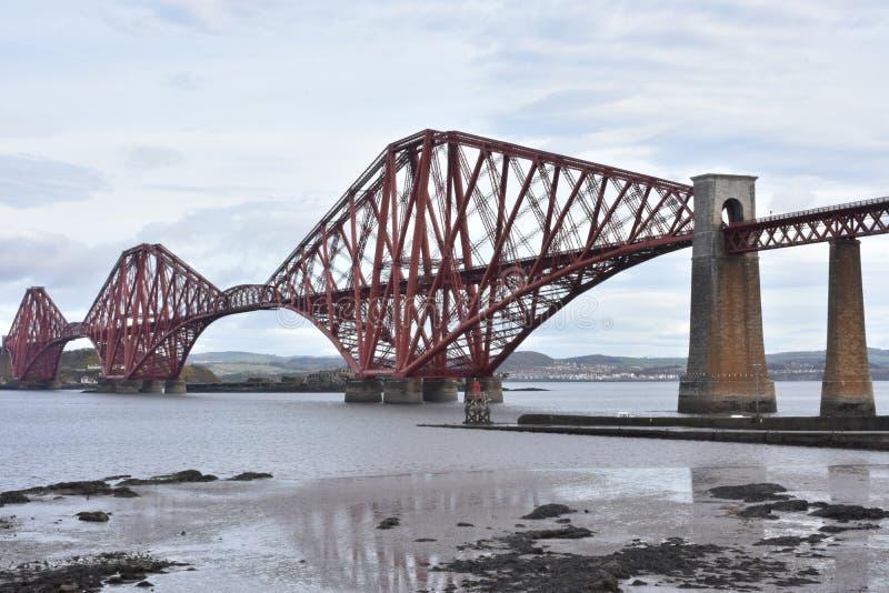 En avant pont de chemin de fer photographie stock libre de droits