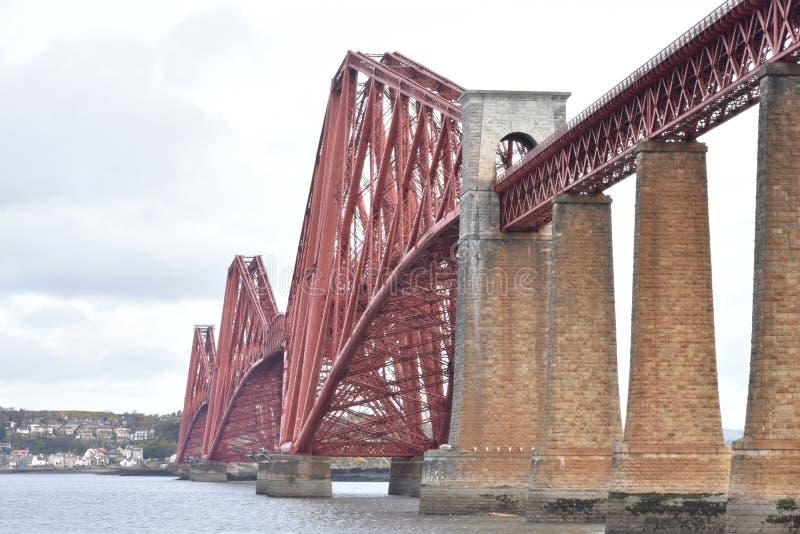 En avant pont de chemin de fer images libres de droits