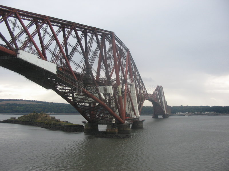 En avant pont en longeron photo libre de droits