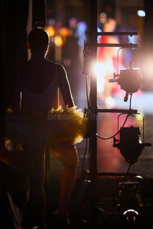 En ballerina arkivfoto