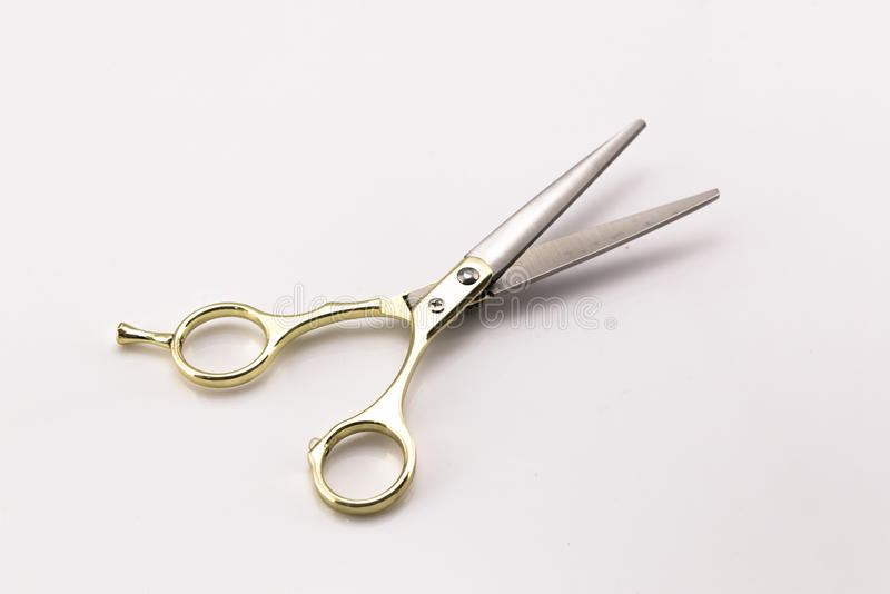 En barberare scissors arkivfoton