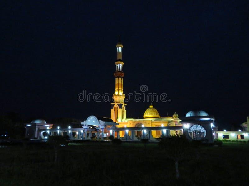En berömd moské i Barisal, Bangladesh royaltyfri foto
