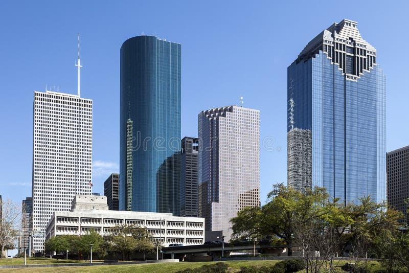 I stadens centrum Houston, Texas royaltyfri foto