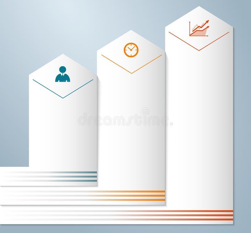 En blanco-página-plantilla-disposición-prospecto-presentación libre illustration