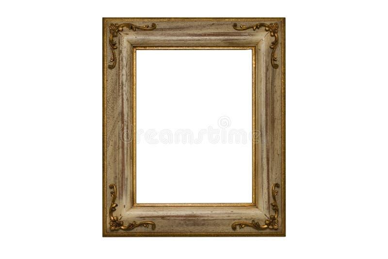 en bois plaqué par illustration d'or de trame images stock