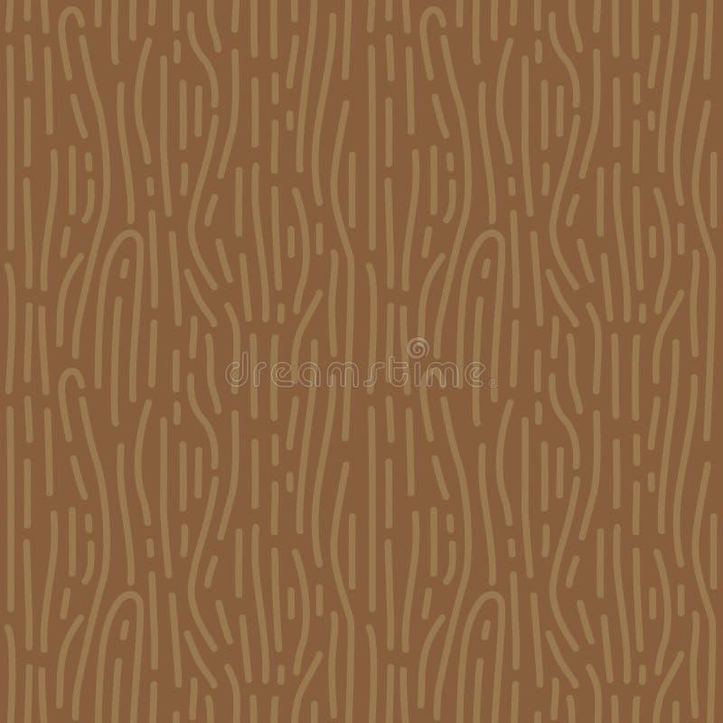 En bois texturisé fond sans couture formé rétro par grain illustration de vecteur