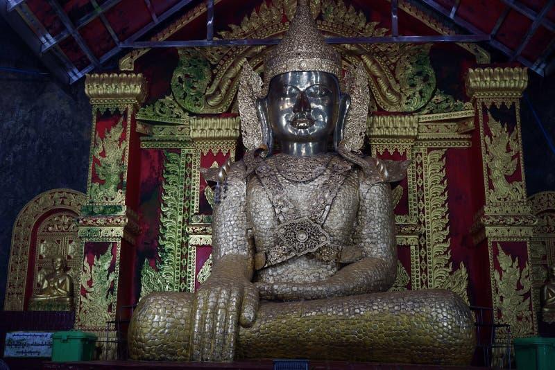 En Buddha royaltyfri bild