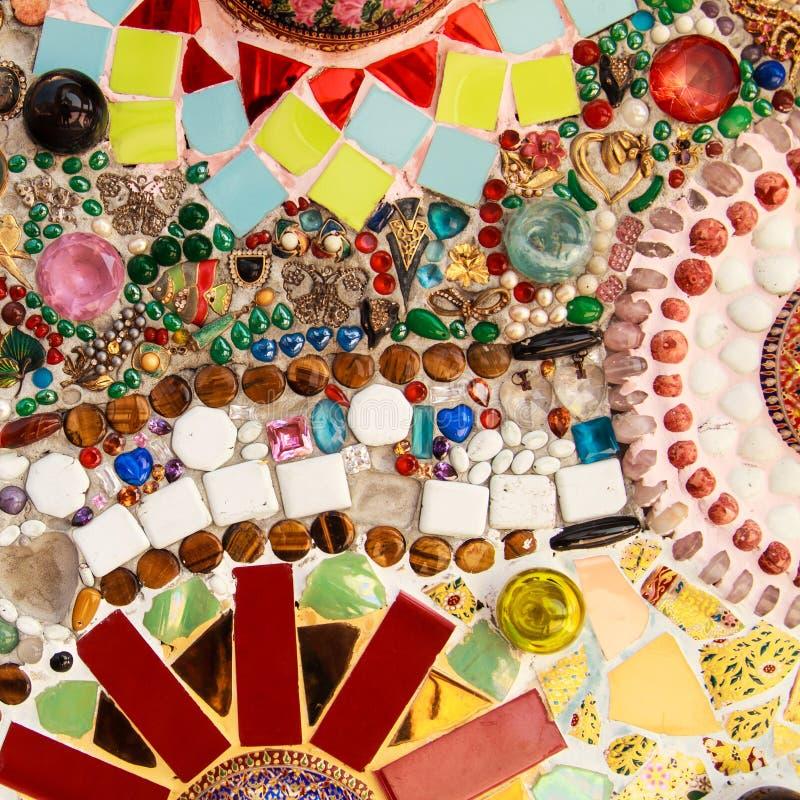 En céramique coloré photo stock
