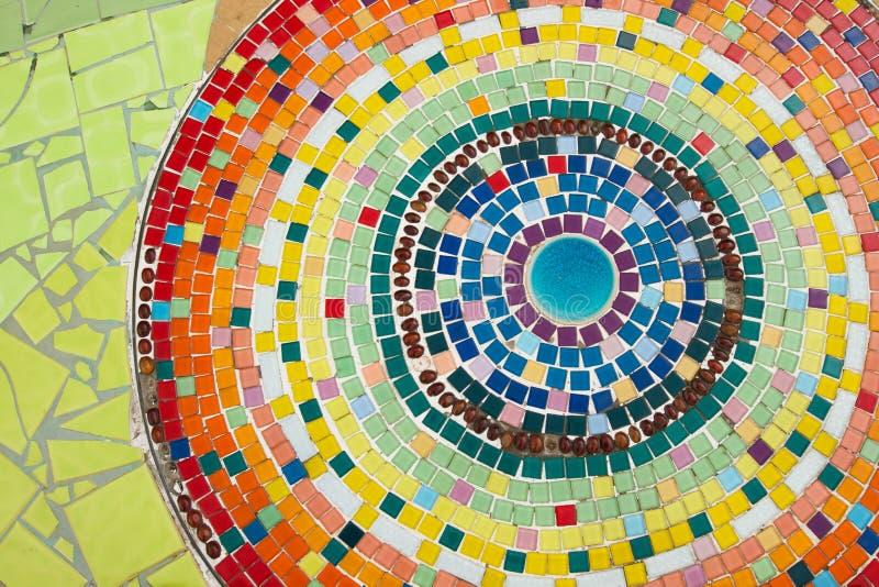 En céramique coloré images libres de droits