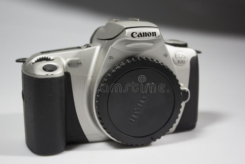 En Canon kamera royaltyfri bild