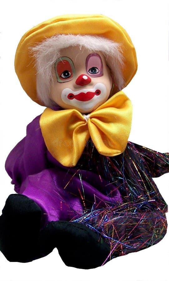En clown arkivfoto