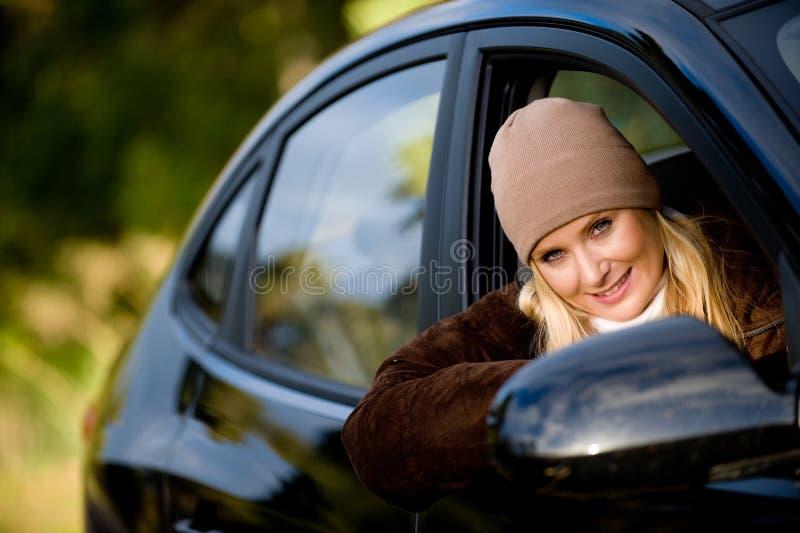 En coche imagen de archivo libre de regalías