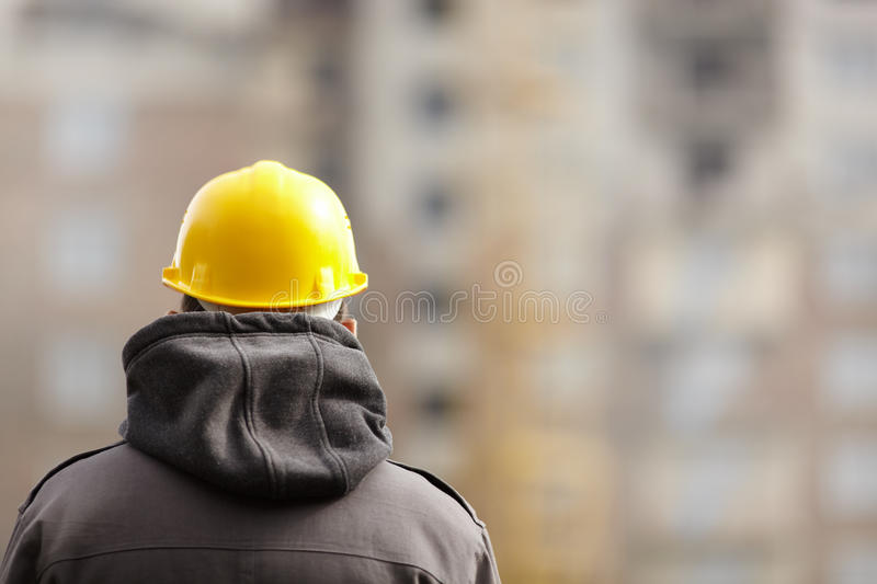 En construction image stock